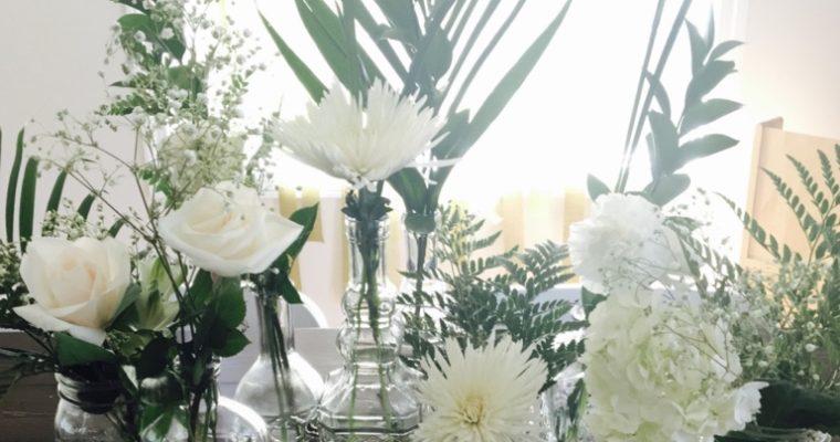 Quick + Easy Mismatched Floral Arrangement