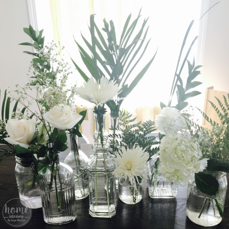 Quick + Easy Mismatched Floral Arrangement