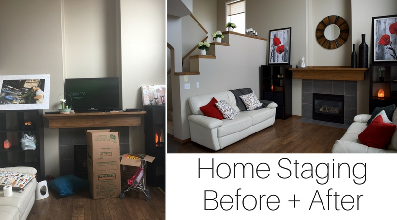 SOLD! Staging Before + After