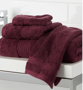 Crimson Hand Towel