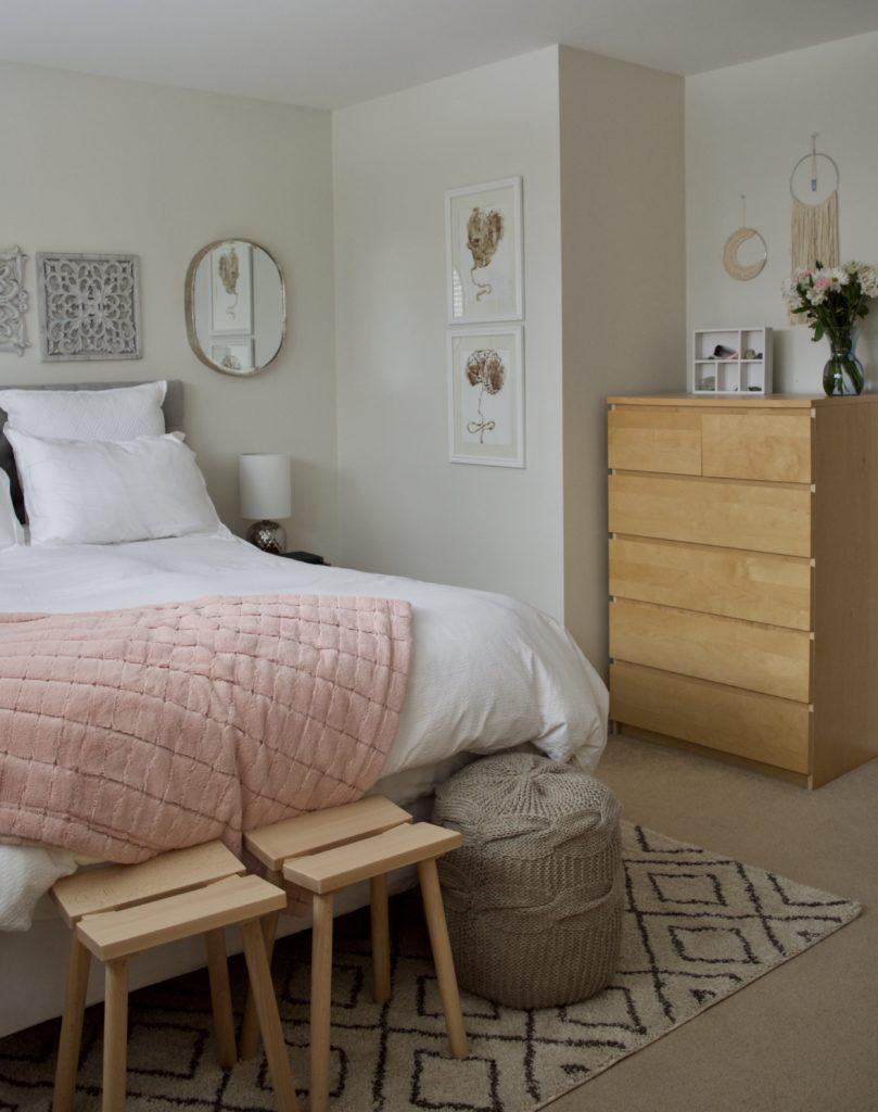 classic gray Benjamin Moore bedroom