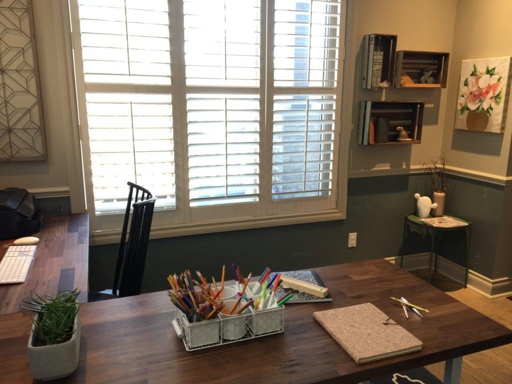 Kid's Art Desk Family Office