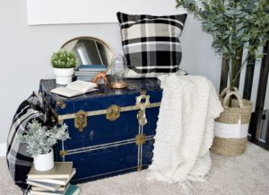 Vintage Trunk Decor Styling