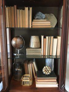 vintage neutral beige warm living room entry