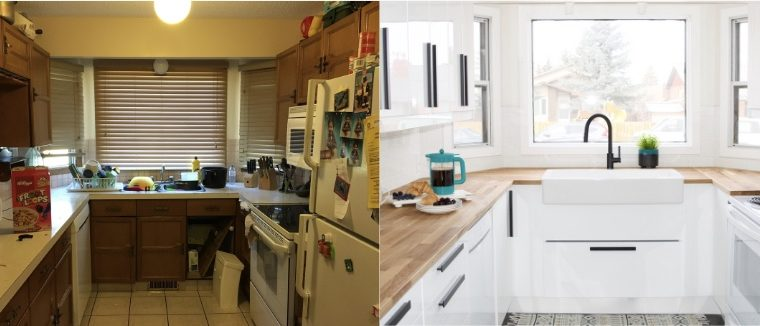 Before + After – Kitchen Renovation