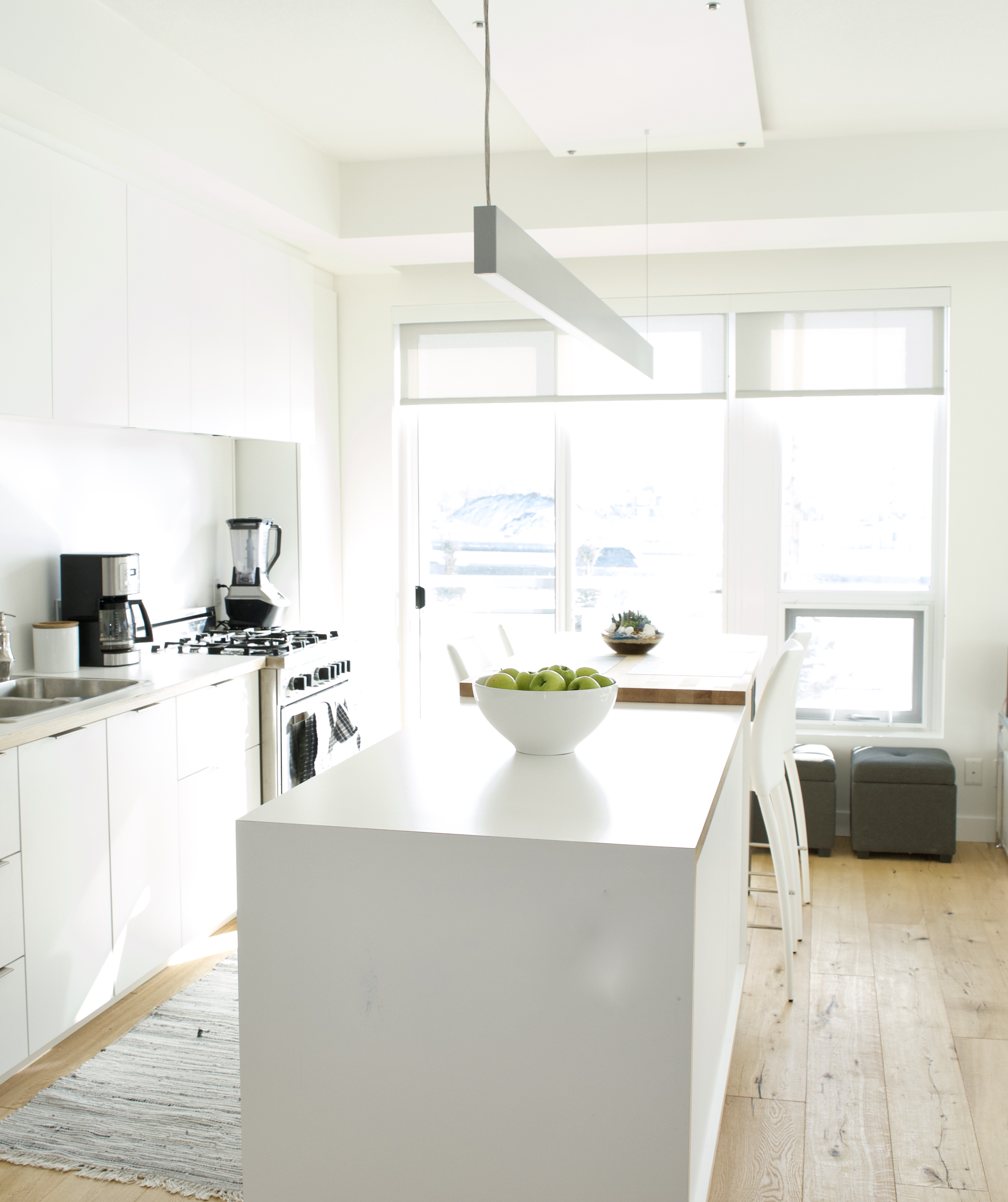 modern scandinavian kitchen best ikea cabinets white grey storage affordable calgary alberta canada interior designer